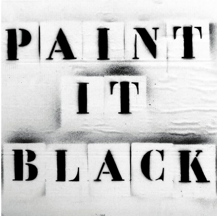 paint in black galerie 3W