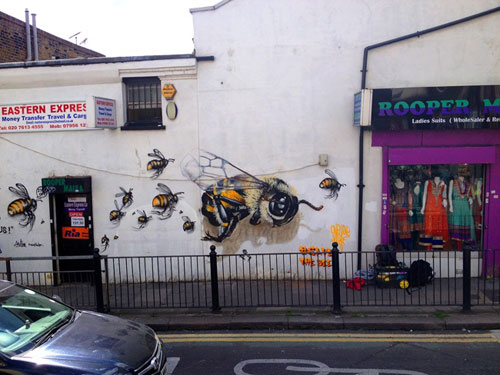 louis-masai-michel-street-art-londre-abeilles-realiste-3