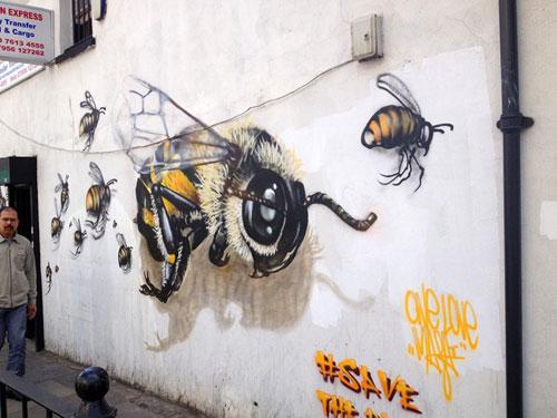 louis-masai-michel-street-art-londre-abeilles-realiste-5