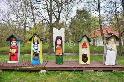 ruches-comme-formes-d-art-populaire-53421908